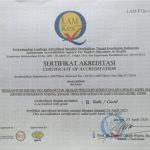 "STATUS AKREDITASI ""B"" LAM-PTKes PRODI D3 KEPERAWATAN 2020-2025"
