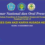Seminar Nasional dan Oral Presentasi Daring STIKES dan AKZI Karya Husada Kediri
